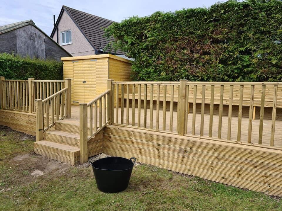 Coventry Beautiful Timber Decking