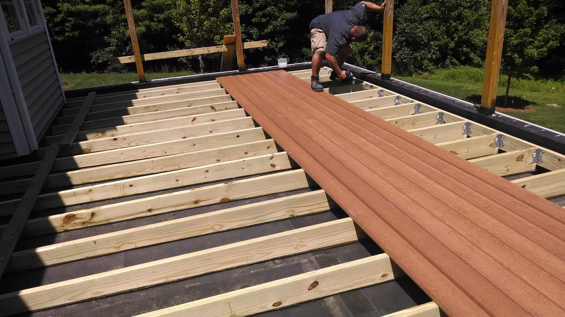 Coventry Building Composite Deck