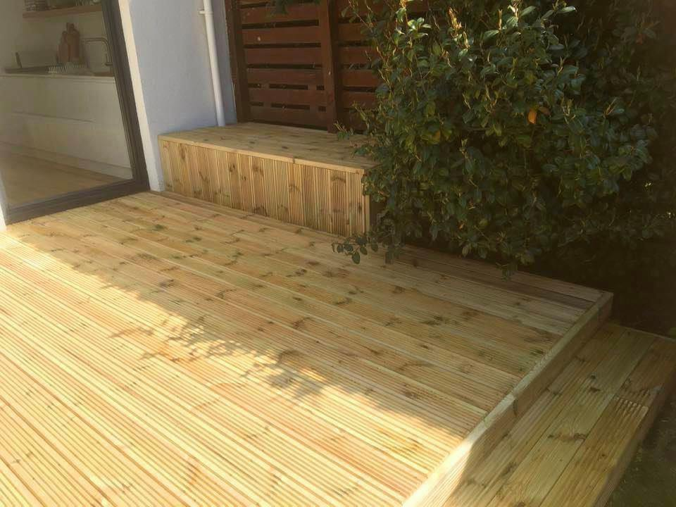 Coventry Timber Decking Porch